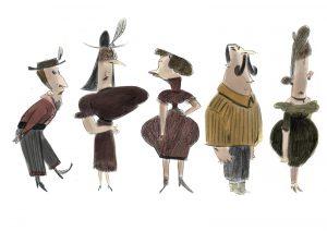 Les villageois 1